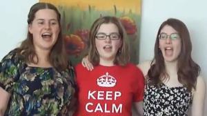 Sisters sing